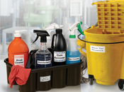 Cleaning and chemical labels