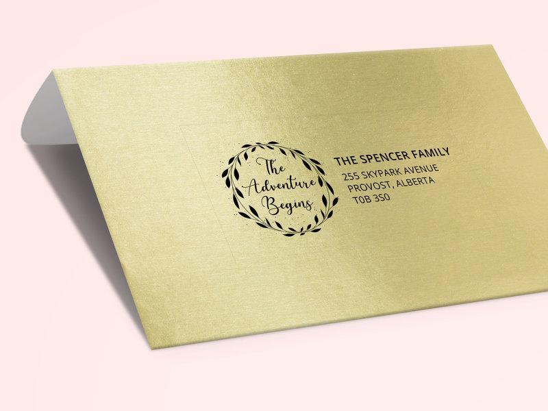 Wedding clear address labels