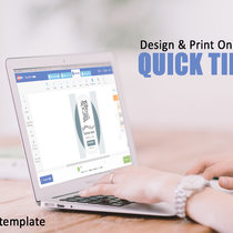 Design & Print Online: How to Change a Template Background