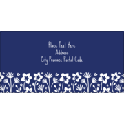Small Floral Blue