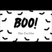 Halloween Batty Boo