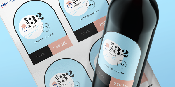 Custom Arched Labels
