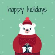 Winter Animals - Bear