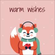 Winter Animals - Fox
